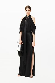 35 New Fashion Ideas That Might Change Everything #refinery29  http://www.refinery29.com/pre-fall-fashion-ideas#slide-25  A glamorous evening bag with a little, compact crossbody is a great way to mix up the severe feel of a black-tie event.