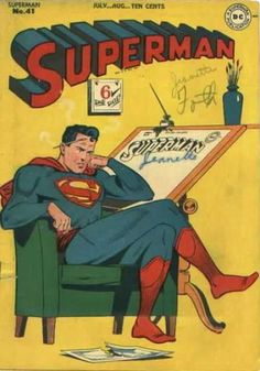 A cover gallery for the comic book Superman Serie Superman, Superman Comic Books, Dc Comic Books, Vintage Comic Books, Vintage Comics, Comic Book Covers, Comic Book Characters, Comic Character, Comic Art