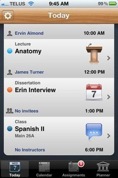 30 best apps for college students