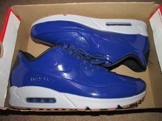 Nike Air Max 90 VT QS Mens Running Shoes 14 Deep Royal Blue Wolf Grey 831114 400 #Nike #RunningCrossTraining