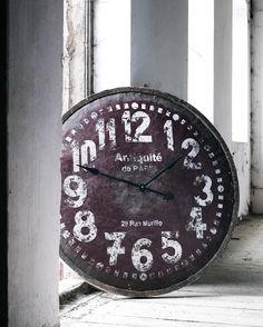 Stort vægur - store ure til vægdekoration - vægur med romertal