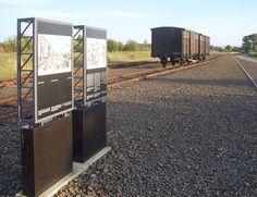 Auschwitz Birkenau l'endroit ou les prisonniers était debarqué