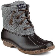 Women's Saltwater Wool Duck Boot - Boots | Sperry Top-Sider