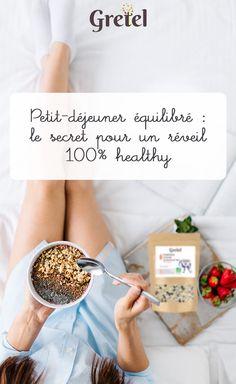 Petit-déjeuner équilibré : le secret pour un réveil 100% healthy Envie de faire le plein de vitalité en savourant dès le matin des délices sains et équilibrés ? Offrez-vous un petit-déjeuner aussi gourmand qu'healthy, et profitez toute la journée du pouvoir des super-aliments. Healthy Recipes, Healthy Meals, Healthy Food, Vegan, Greedy People, Food, Healthy Living, Health Recipes, Clean Eating