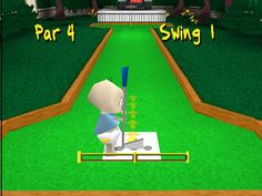 The first time I played crazy golf. (Rugrats: Search for Reptar)