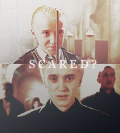 A boy haunted by beliefs he does not believe, feelings he does not feel, and ideas he does not idealize.  Draco Malfoy