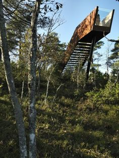 Forest Stair in Stokke,© Bent René Synnevåg