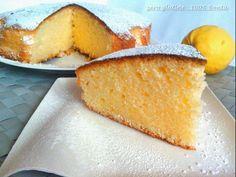 Torta al limone senza glutine e lattosio