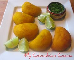 Like many Colombian snacks this can be a main meal or just an appetiser. This is my version of the beef pasties, but different flavour and dips can be Colombian Cuisine, Colombian Recipes, Yummy Snacks, Yummy Food, Tasty, Pie Pastry Recipe, Canapes Recipes, Beef Empanadas, Peruvian Recipes
