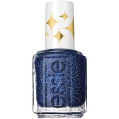 essie retro revival nail color, starry night (230 UAH) ❤ liked on Polyvore featuring beauty products, nail care, nail polish, nails, makeup, beauty, cosmetics, filler, starry starry night and essie nail color