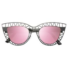 Steel Designer Inspired Cut-Out Cat Eye Sunglasses – CosmicEyewear Cat Eye Sunglasses, Mirrored Sunglasses, Optician, Prescription Lenses, Types Of Fashion Styles, At Least, Design Inspiration, Steel, Inspired