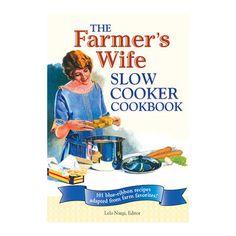 Voyageur Press Farmers Wife Slow Cooker Cookbook 145801