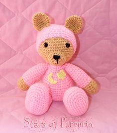 Osito Sweet Dreams  Osito para Bebé  Regalo por StarsOfPurpurin