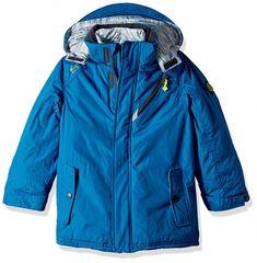 Boys Board JKT W/Vestee - Greek Blue - - Outdoor Clothing, Boys, Jackets & Coats, Down & Down Alternative # # #