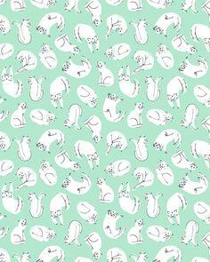 Kitty wallpaper: mourningdovestudios: Esther Lara