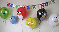 Angry Bird Birthday Party--Complete Party Ideas.