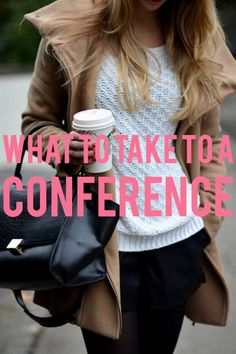Your Sorority Sister: WHAT TO TAKE TO A CONFERENCE