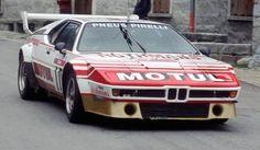 germancarsblog:  BMW M1 rally car