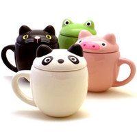 Animal mug ideales para que no se te enfríe el café con leche!