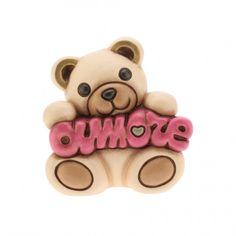 Teddy amore con scatola in variopinto soft 10 cm h