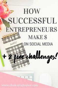 How to Make Money on Social Media — Chakayla J. Taylor