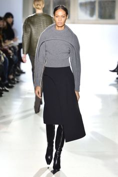 See all of the best runway looks from Paris Fashion Week. Balenciaga Fall 2014.