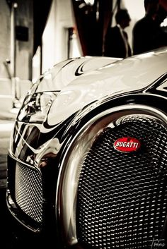 M'lord learned a lesson at granddad's knee: Always arrive in style because you never get a second chance to make a first impression. And it helps if you happen to have a Bugatti.