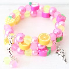 Purposeful Children Creative Diy Beads Set Handmade Colorful Bracelet Jewelry Making Kit Kids Learning Educational Toys For Girls Gift Beautiful And Charming Toys & Hobbies