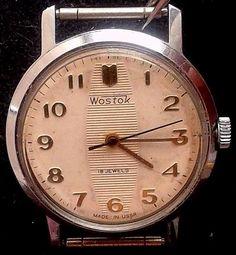 "Rare Vintage Russian ""Wostok"" 2409 mecanical  watch #Wostok"