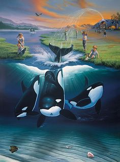 Image detail for -double your wyland art on us limited time offer