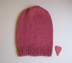 Beanie Child / Small Adult Alpaca Hat Slouchy Children Hat Red Knit Hat Unisex on Etsy, kr182,48