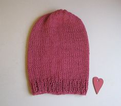 Beanie Child / Small Adult Alpaca Hat Slouchy Children Hat Red Knit Hat Unisex on Etsy, kr 182,48