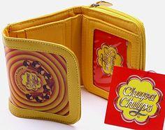 Retro Sweets Chupa Chups Choco Vanilla Flavour Yellow Ladies Wallet Purse