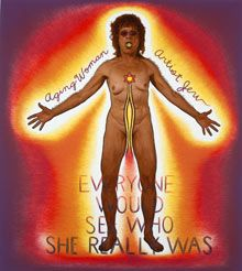 Inspiration Judy Chicago Aging Woman/Artist/Jew