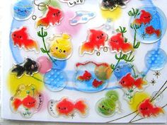Japanese Stickers Goldfish in Summer S11 by FromJapanWithLove, $5.75
