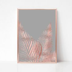 Printable Nautical, Coastal and Tropical Wall Art by DreamySeahorse Impression Feuille D'or, Feuille Aluminium Art, Reproductions Murales, Gold Office Decor, Gold Foil Print, Foil Art, Gold Walls, Art Mural, Leaf Art