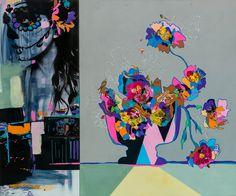 AAF London -  Art Fair. Vanity. Mixed media. 100 x 120 cm.