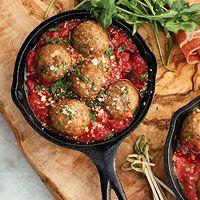 Mini Summer Meatballs