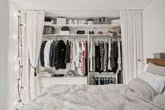 Un armario low cost para habitaciones con personalidad. diy #habitacion