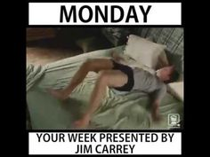 Saturday is everything! | Your week presented by Jim Carrey - YouTube