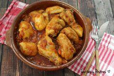 Comparte Recetas - Pollo al chilindrón