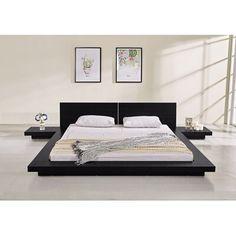 Platform Bed Sets, Platform Bed Designs, Platform Bedroom, Platform Bed With Storage, Modern Platform Bed, Floating Platform Bed, Floating Bed Frame, Bedroom Bed Design, Room Ideas Bedroom