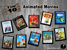 Voidcan.org brings you the list of top ten animated movies and all the information regarding animated movies which makes them best. List is researched by our movies experts.