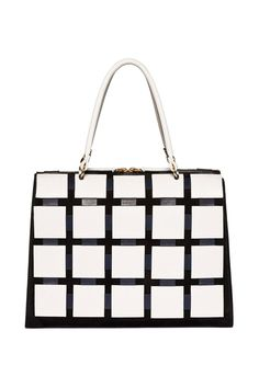 Marni    Go graphic with this windowpane piece - taking ladylike chic into the Twenty First Century.