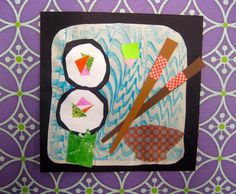 In the Art Room: Let's Make Sushi!