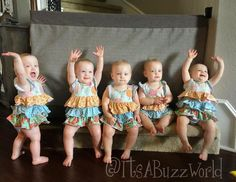 """The Quints favorite new hangout spot. Look for it on TLC's """"Outdaughtered"""" this fall!"""