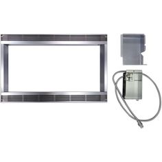 R551ZS Stainless Steel 30-inch Built-in Trim Kit for Sharp Microwave, As Shown