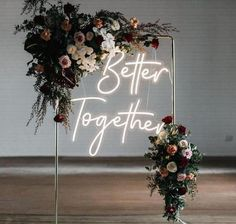 Neon Signs Home, Custom Neon Signs, Orange And Turquoise, Red Blue Green, Wedding Signs, Wedding Ceremony, Reception, Home Wedding, Party Wedding