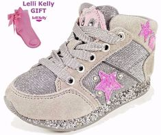Lelli Kelly NEW 2017 LIGHTS Girls Kids Ankle Trainers Boots Sneakers Size Shoes #LelliKelly #CasualShoes #italian #fashion #girlsboots