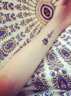 New lil Unalome Lotus tat In love